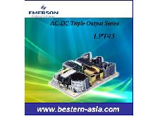 ASTEC/Emerson LPT45 40W Triple output AC-DC Power Supply