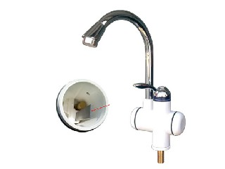 Electric heating faucet CN-09