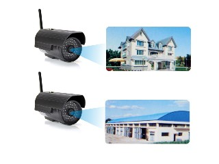 Waterproof Outdoor WiFi IP Camera withTwo-way Audio and 20Meters night vision