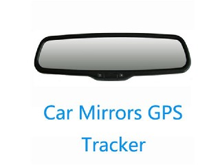 2013 New Promotional Quad-band Car Mirror GPS Tracker with Power/Oil Cutting & Resume by SMS