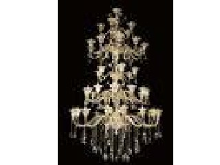 E27 / GU10 Beautiful Large LED Chandelier Lights With 49 Lights CE / RoHS / FCC
