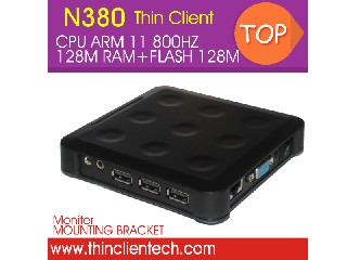 Win CE Thin Client N380 Embedded ARM Motherboard,USB,VGA,MIC,SPK,RDP Protocol Support Windows/Linux
