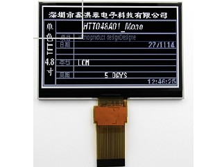 Mono TFT  LCD Module : HTM048A01Specification: 400x240