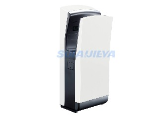 bathroom stainless steel jet air hand dryer