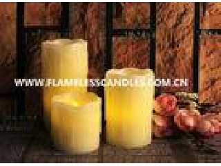 Battery Operated Flickering LED Votive Flameless Candle / Wholesale Votive Candles