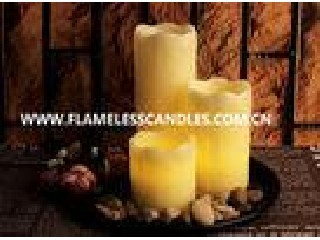Ivory Wax Yellow Flickering Flameless LED Votive Candles Battery Operated for Home Decoration