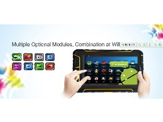 ST907 Android Tablet PC 7inch/4G/WIFI/BT/GPS barcode scan/RFID reader