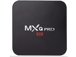 MXQPRO ANDROID TV BOX QUAD CORE