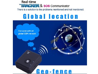 QT-V6s GSM Bug Tracker Position Two Way Audio APP Monitor Sos Kid Phone Call