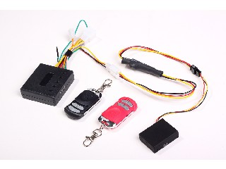 Motorcycle Security Alarm GSM Alert Tracker RF Against Theft (QT-V10)