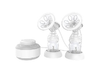 Infinitely variable speed electric double breast pump XB-8707