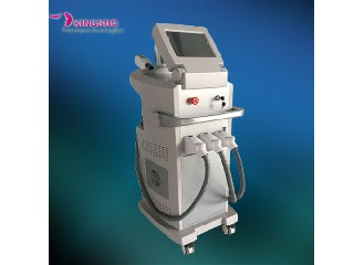 3 handles Nd yag laser Skin Hair Removal IPL Skin Rejuvenation KS-M03
