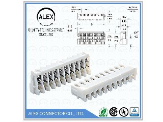 "IDC Housing / .031""(0.80mm) Wire-to-Board Connector   9080-xx"