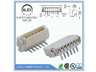 "Vertical Header, SMT / .031""(0.80mm) Wire-to-Board Connector   9081-xx"