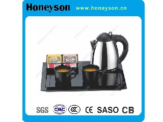 0.8L Stainless Steel Housing Hot Sell Electric Kettle with Welcome Tray B-K80