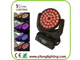 4in1 RGBW zoom moving head wash,36PCS LED moving head light,professional led light,dmx512 stage ligh