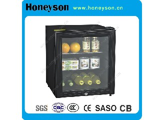 Glass Door Hotel Mini Refrigerator 42L HS-42G