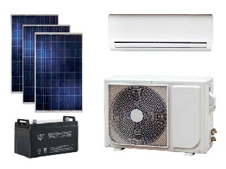 On/off Grid Solar Air Conditioner