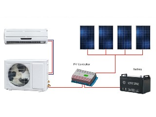 Off-grid DC 48V Solar Air Conditioner