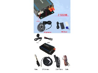 3G vehicle gps tracker with camera